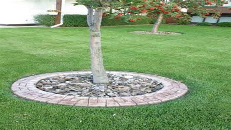 Landscape Edging Ideas Around Trees Home Design Ideas Landscape Around Trees