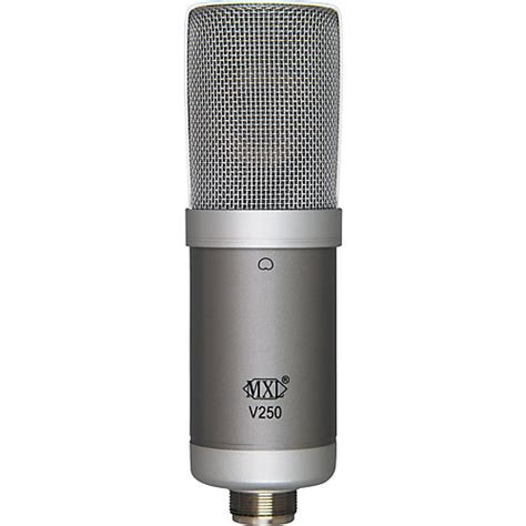 condenser microphone how mxl v250 condenser microphone musician s friend