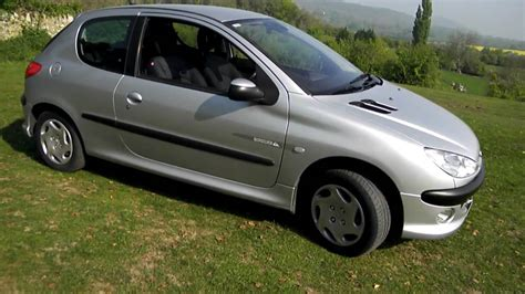 peugeot 206 quicksilver 2003 peugeot 206 1 4i quicksilver youtube