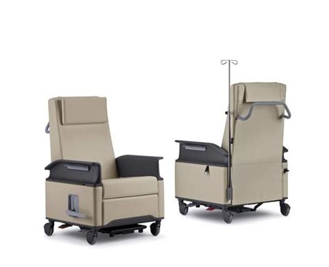 medical recliners for patients empath nurture by steelcase healthcare furniture