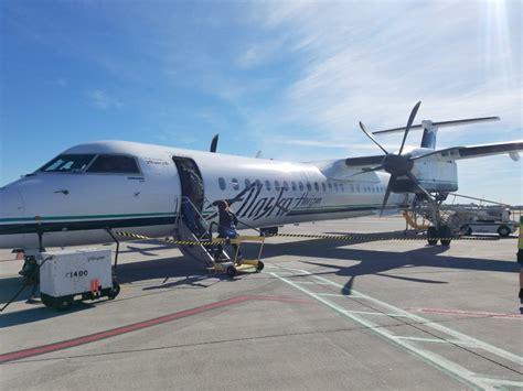 ground worker stole  crashed  alaska airlines