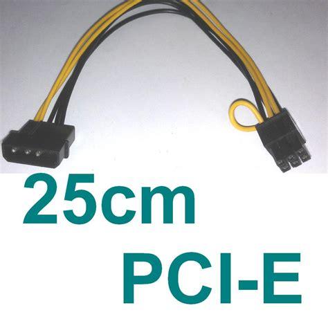 Kabel Ties 25 Cm 3 6 X 250mm Cable Tie Tis Kabel Pengikat pci e 25cm stromkabel grafikkarten power kabel 6 pol pci express 6 pin 4 pin 250 ebay