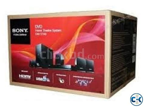 sony dav tz140 monolithic design 5 1 channel home theater