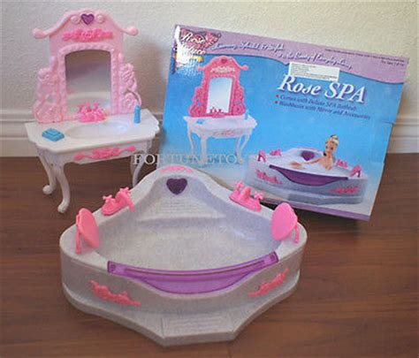 doll house spa barbie furniture collection on ebay