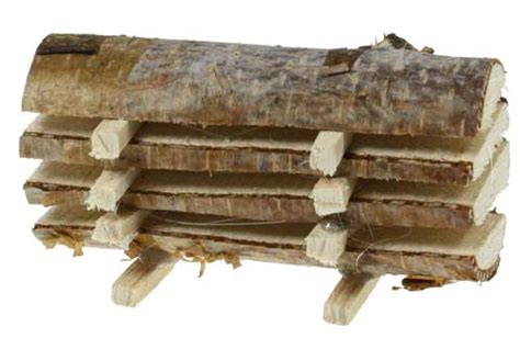 kerzenhalter baumstamm bretter stapel natur 7 cm baumstamm stapel