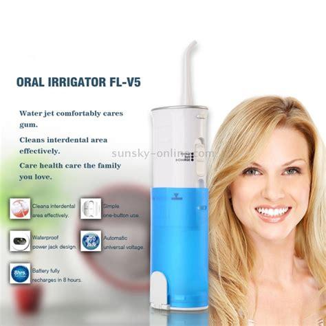sunsky fl  rechargeable waterproof oral irrigator