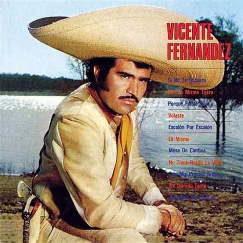 vicente fernandez album covers vicente fernandez 1st album by vicente fern 225 ndez napster