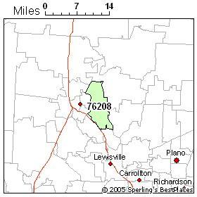 denton texas zip code map best place to live in denton zip 76208 texas