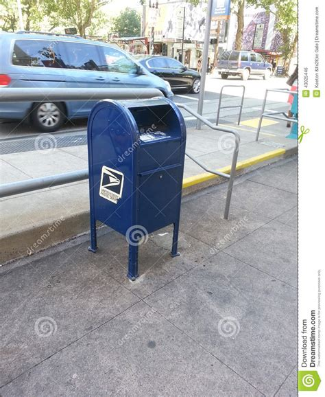 Post Office Downtown Portland us postal editorial photo image of blue west portland