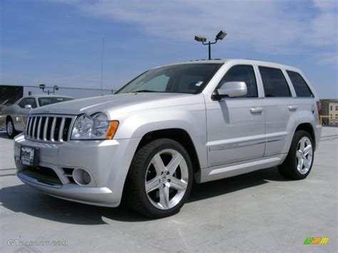 silver jeep grand cherokee 2007 bright silver metallic jeep grand cherokee srt8 4x4