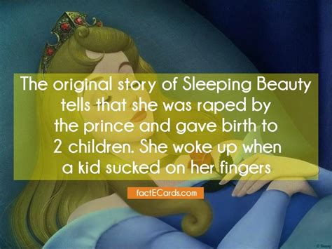 Story Original - the original story of sleeping tells that she was