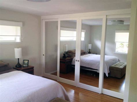 Sliding Glass Mirrored Closet Doors Closet Doors Mirrored Sliding Glass Doors Yelp