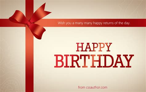 Free Birthday Card Template Psd by Beautiful Birthday Greetings Card Psd For Free