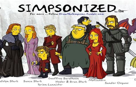 Simpsons Of Thrones by 1000 Images About The Simpsons On