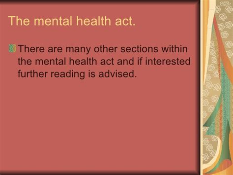 mental capacity act section 6 the mental capacity act