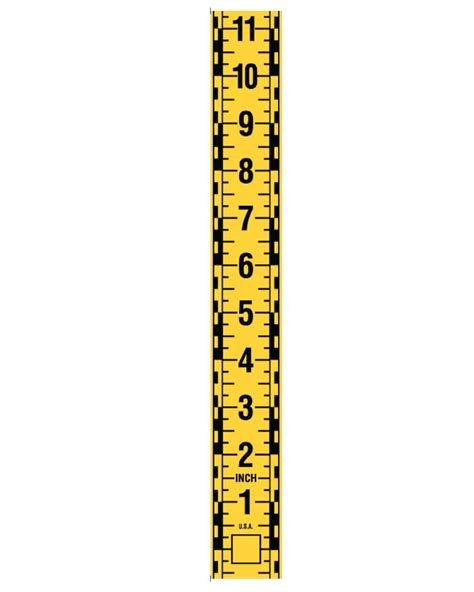 printable vertical ruler arrowhead forensics photo documentation scales