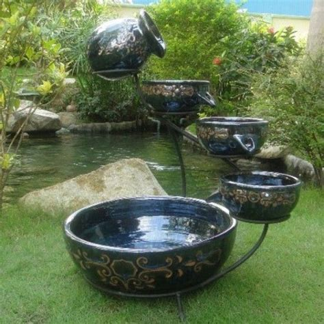 319 best beautiful water fountains patio deck display