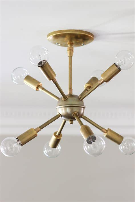 F U R L A Chandelier diy modern brass chandelier diy design ideas