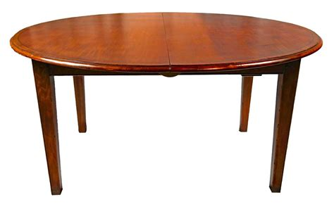 cherry yewwood banded dining table for sale at 1stdibs