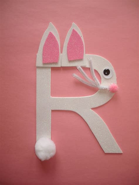 rabbit craft projects letter g crafts preschool