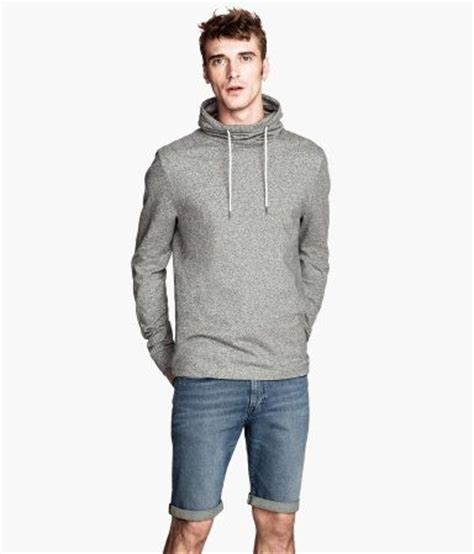Chimney Neck Hoodie Mens - h m sweatshirts and i don t care on