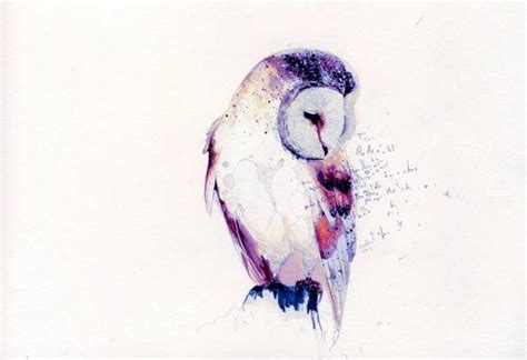 watercolor owl tattoo designs 40 watercolor owl tattoos