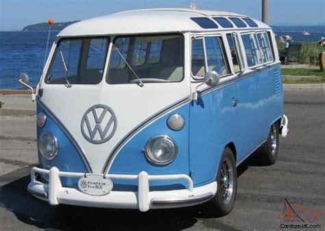 volkswagen cer inside 1967 vw 21 window deluxe bus walk thru original interior