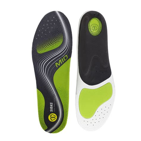 Sidas 3feet Activ Low Arch Insoles sidas 3feet activ insoles for medium arches shoeinsoles co uk