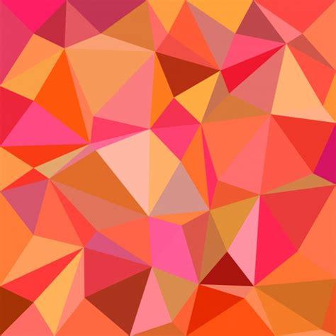 mosaic background orange mosaic background vector free download