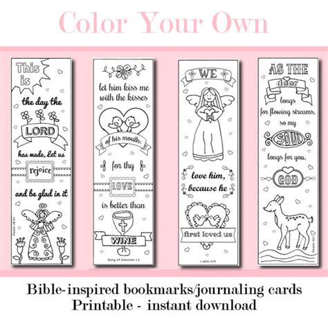 printable color your own bookmarks color your own printable bookmarks bing images