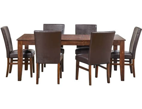 slumberland dining room sets slumberland kona collection 5pc parsons dining set