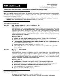 Car Rental Sle Resume by Professional Car Salesman Resume