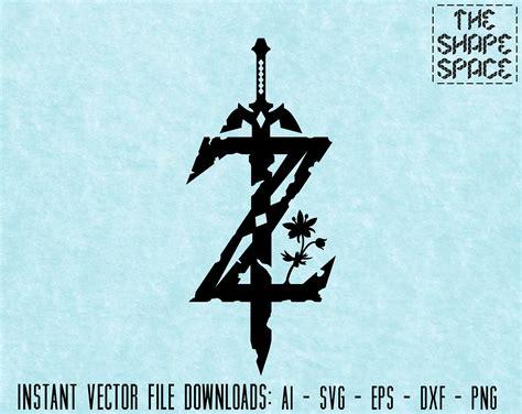 zelda breath   wild logo instant vector  ai