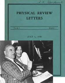 physical review letters to advance and diffuse the knowledge of physics 1539