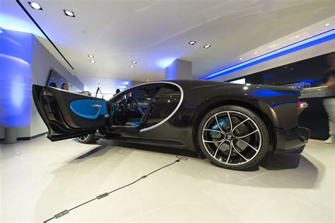 Inside The Bugatti Chiron Showroom Evo