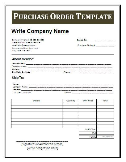 purchase order template word fundraiser order form template playbestonlinegames