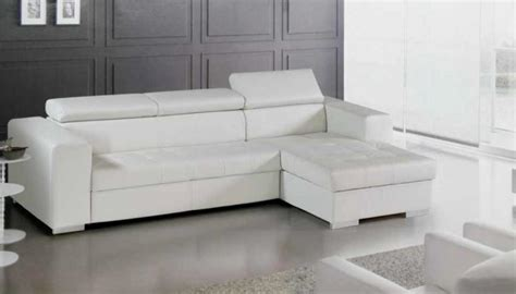 canape angle blanc photos canap 233 d angle cuir blanc conforama