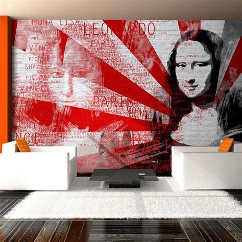 modern wall collage hot girls wallpaper wallpaper modern collage with mona lisa motif 3d
