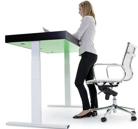 Stir Desks by Stir Kinetic Desk Increases Productivity And Helps Burn