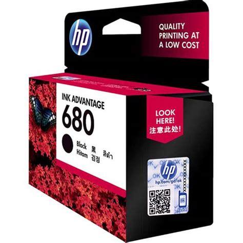 Cartridge Hp 680 Black Original Ink Advantage Cartridge Berkualitas buy hp 680 black original ink advantage cartridge