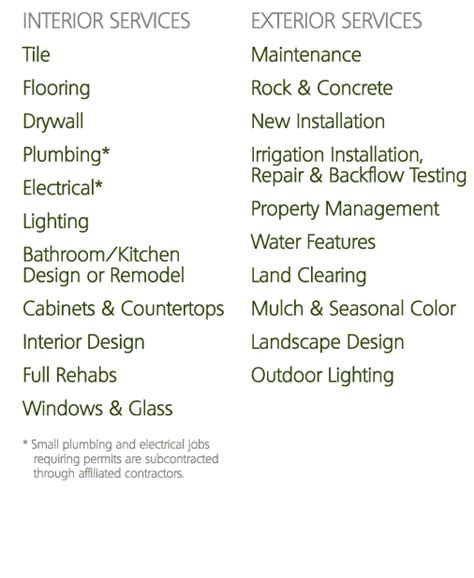 landscaping services list 2011 2014 wdl designs llc all rights reserved images