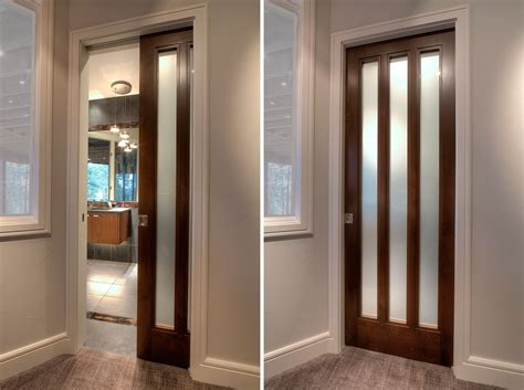 Pocket Closet Doors Wooden Pocket Interior Doors