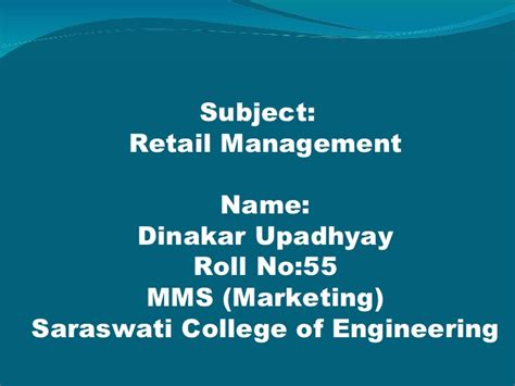 Retail Management Notes For Mba by Retail Strategy On Retail Strategies Presenatation
