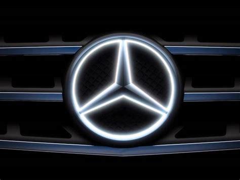 Mercedes Light Up Emblem by Mercedes Light Up Emblem The Awesomer
