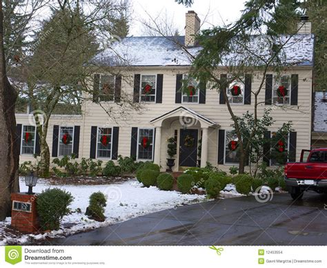 luxury homes decorated for decorated luxury home stock images image 12453554