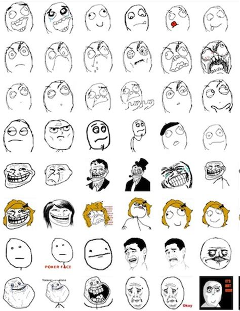 Facebook Chat Meme Faces - how to add rage face emoticons in facebook chat