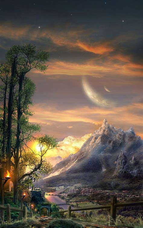 landscape inspiration breathtaking fantasy landscapes scenery fantasy