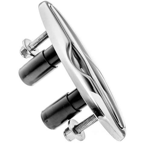 gem boat cleats gem stainless steel cutting edge cleats sleek