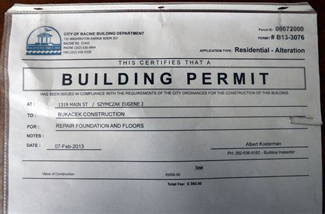 City Of Building Permit Search By Address Building Permit Images