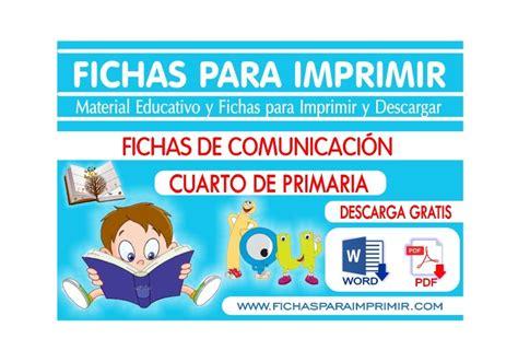 problemas para ni os de cuarto de primaria comunicacion integral para cuarto de primaria fichas